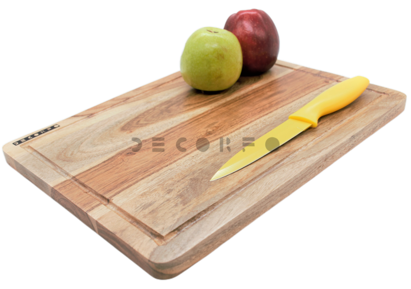 Classic wooden chopping board
