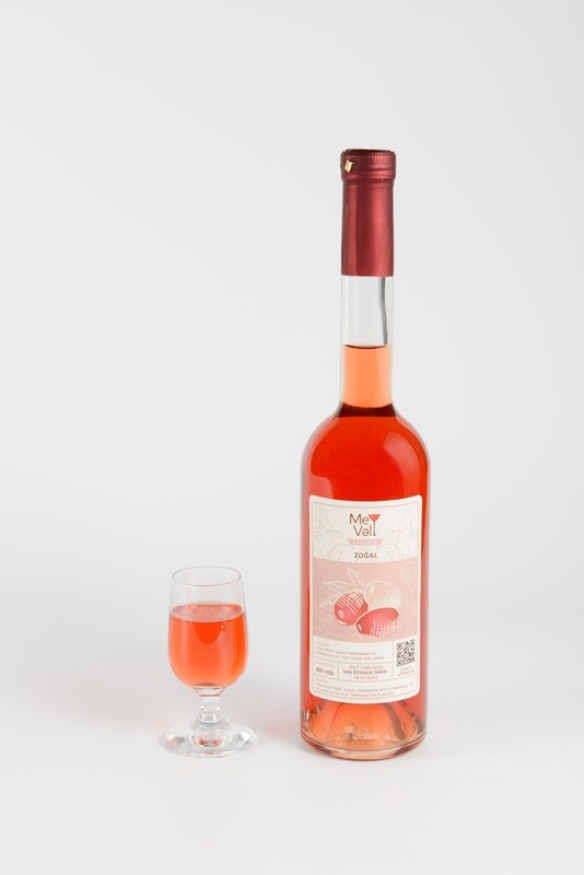 Zoğal Likyoru/Наливка кизиловая/  Cornelian Cherry Liquor