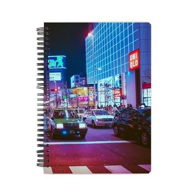 Japan Lights Notebook