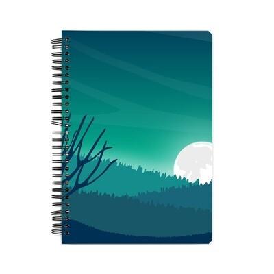 Blue Night Notebook