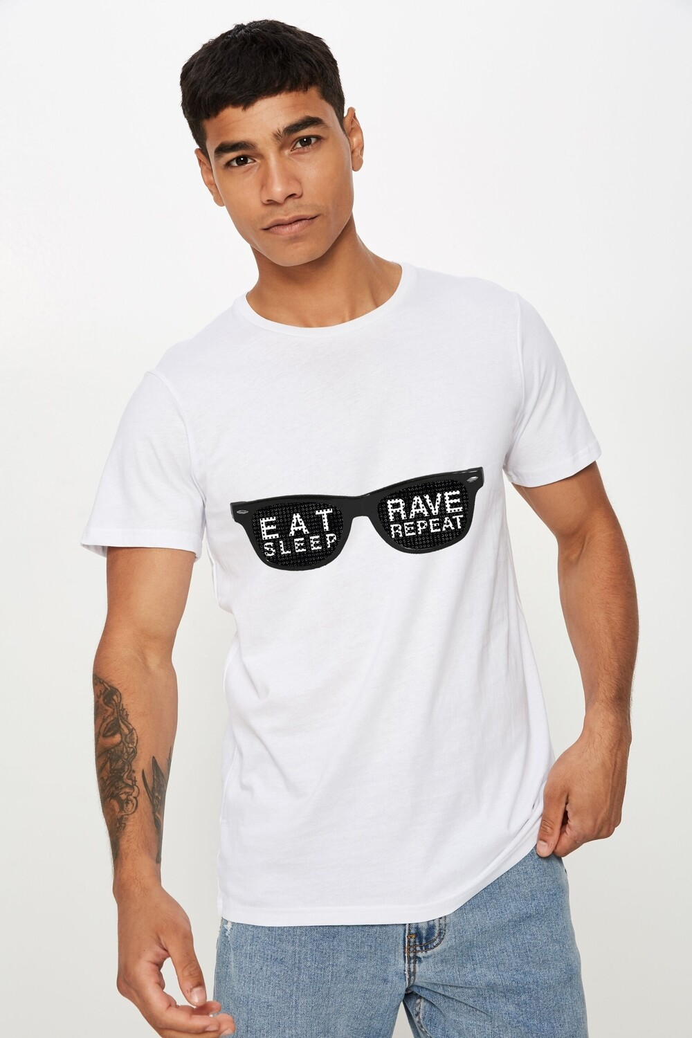 Rave Goggles Tee
