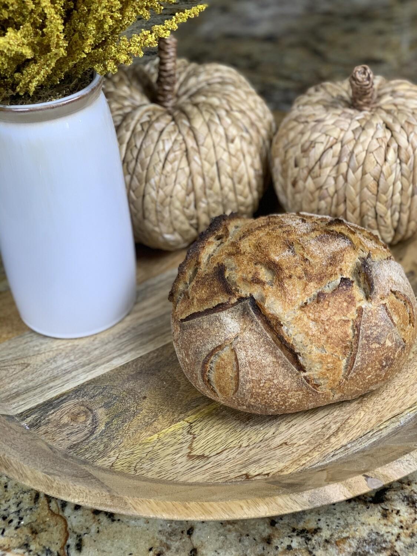 All-Natural Rye Sourdough