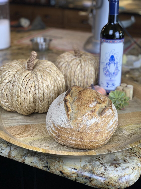 Country White Sourdough Bread