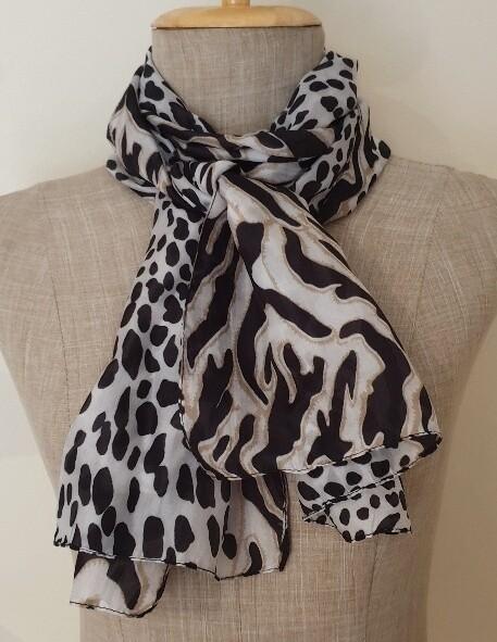 Silk Scarves - Classic Animal