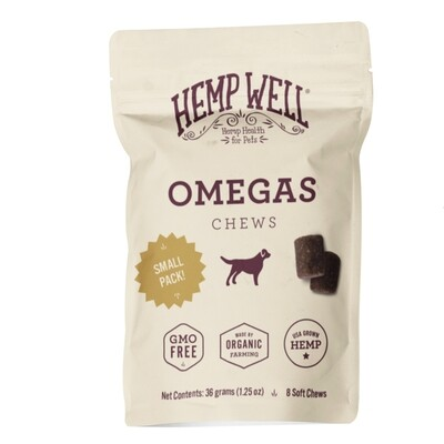 Omegas Soft Chews Small Pack (8 Count)