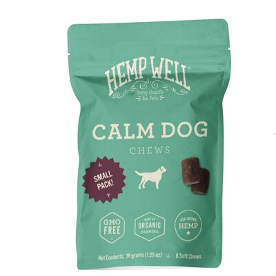 Calm Dog Soft Chews Small Pack (8 Count)