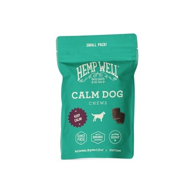 Calm Dog Soft Chews Small Pack