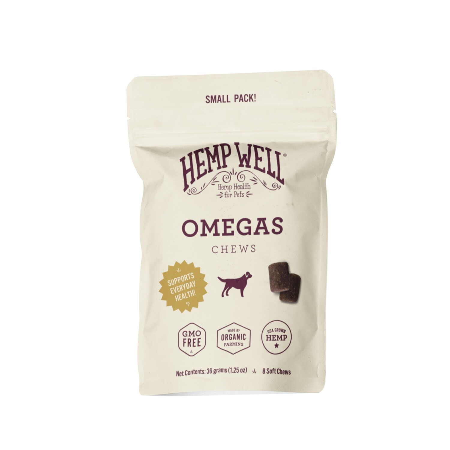Omegas Soft Chews Small Pack