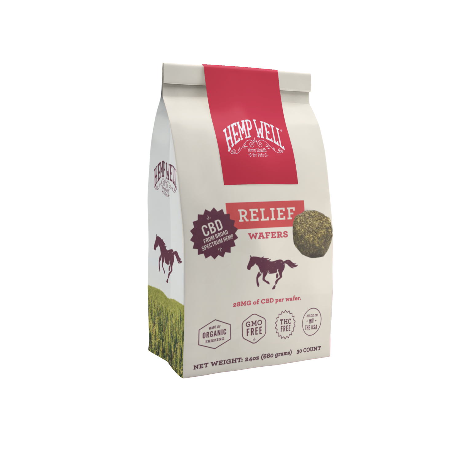 Horse Relief CBD Wafers