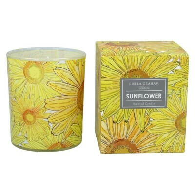 Gisela Graham Sunflower Scented Candle (40 Hours)
