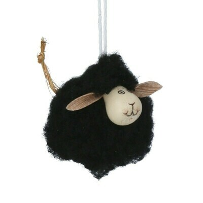 A pair of little Black Sheep by Gisela Graham (2)