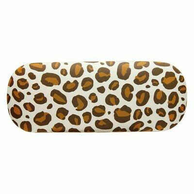 Sasse & Belle Leopard Design Glasses Case