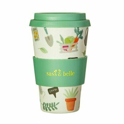 Sass & Belle Gardening Design Bamboo Coffee Cup