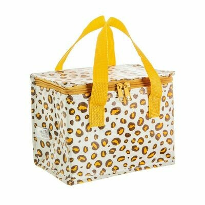 Sass & Belle Leopard Print Lunch Bag