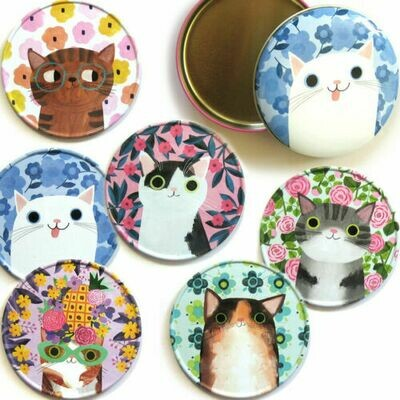 Planet Cat Coasters (6)