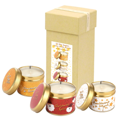Pintail Candles Christmas Boxed Set Tis' The Season