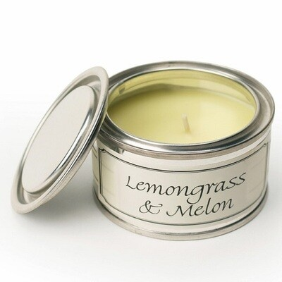 Pintail ​Lemongrass & Melon Paint Pot Candle (14 hours)