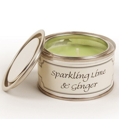 Sparkling Lime & Ginger Paint Pot Candle (14 hours)