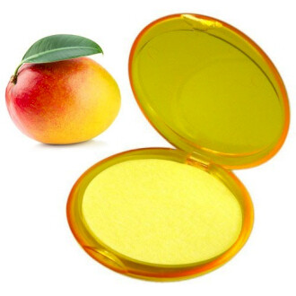 2 Compacts of Pocket Paper Soaps: Mango  & Coconut