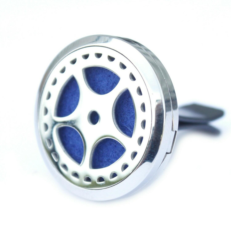 Car Diffuser Kit: Auto Wheel (+10ml of Aromatherapy Oil)