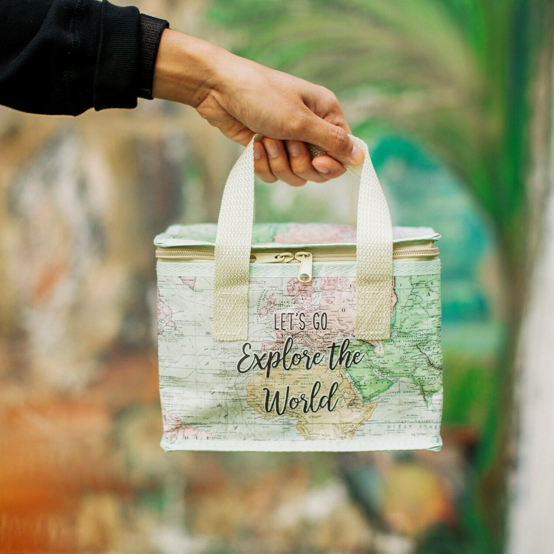 Sass /& Belle World Explorer Lunch Bag