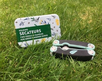 GIFT IN A TIN: Folding Secateurs