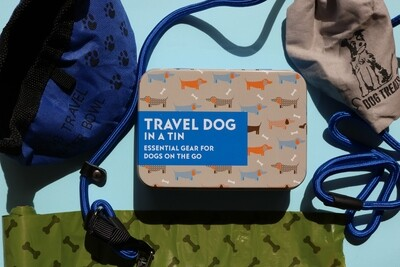 GIFT IN A TIN: Travelling Dog Kit