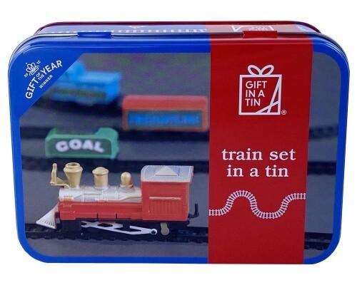 GIFT IN A TIN: Train Set in a Tin