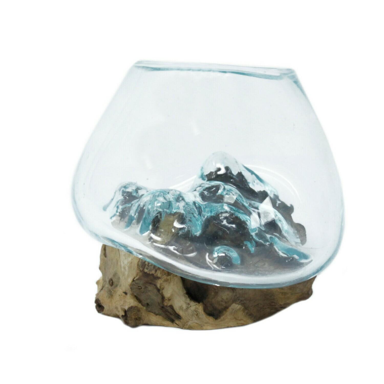 Molten Glass Bowl