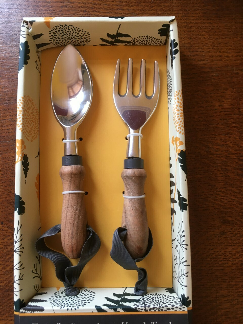 Tub and Container Fork & Trowel, garden tool set.