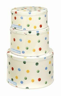 Emma Bridgewater Polka Dot Cake Tins (3)