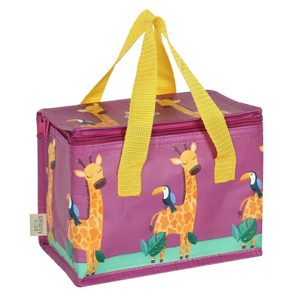 Insulated Giraffe Design Lunch Bag