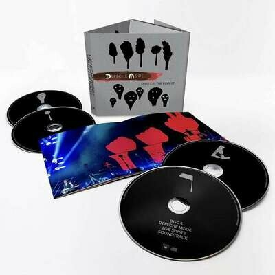 Depeche Mode - Spirits In The Forest CD/BLU-RAY