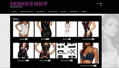 Dessous Shop - kein PA-API-Schlüssel mehr nötig - 629 Artikel