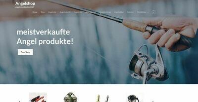 Webshop für Angeln und Zubehör - 1047 Produkte - Amazon Affiliate