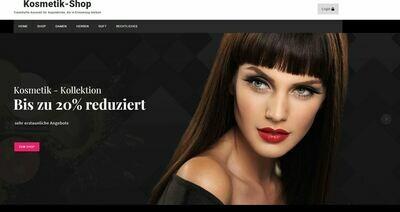 Kosmetik Shop - Amazon Affiliate - kein PA-API-Schlüssel benötigt