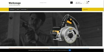Werkzeug Shop - kein PA-API-Schlüssel benötigt - 823 Artikel