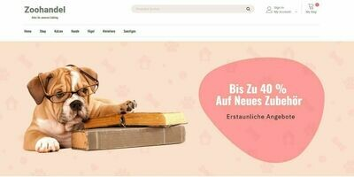 Zoohandlung Shop - Amazon Affiliate - kein PA-API-Schlüssel nötig
