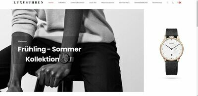 Luxusuhren Shop mit 786 Artikel online - Wordpress Amazon Affiliate