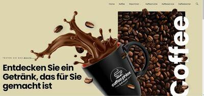 Webshop für Kaffee und Zubehör - Wordpress Amazon Affiliate
