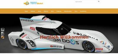 Webshop für Ferngesteuertes Spielzeug - Wordpress - Amazon Affiliate - 674 Artikel