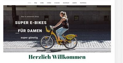 E-Bike Shop - Amazon Affiliate Shop - E-Bike - Scooter - Roller - 1032 Artikel