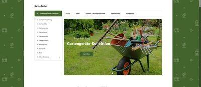 Garten Center - Amazon Affiliate Shop - Alles für den Garten - 1475 Artikel