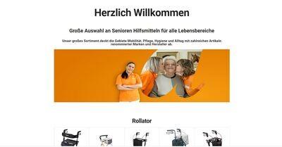 Shop für Kranken und Pflege Artikel - Amazon Affiliate