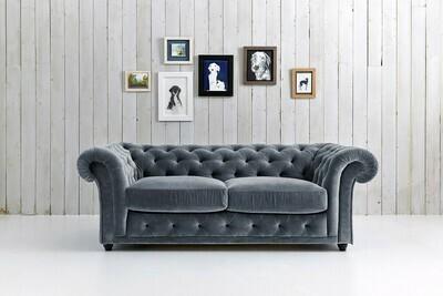 Churchill - Chesterfield Sofa Grey