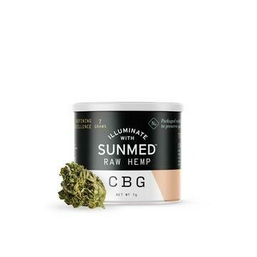 SunMed CBG Rich Raw Hemp Flower 7g