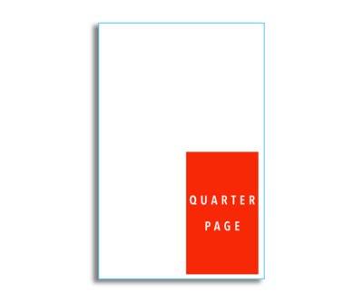 Winner's Magazine Quarter Page