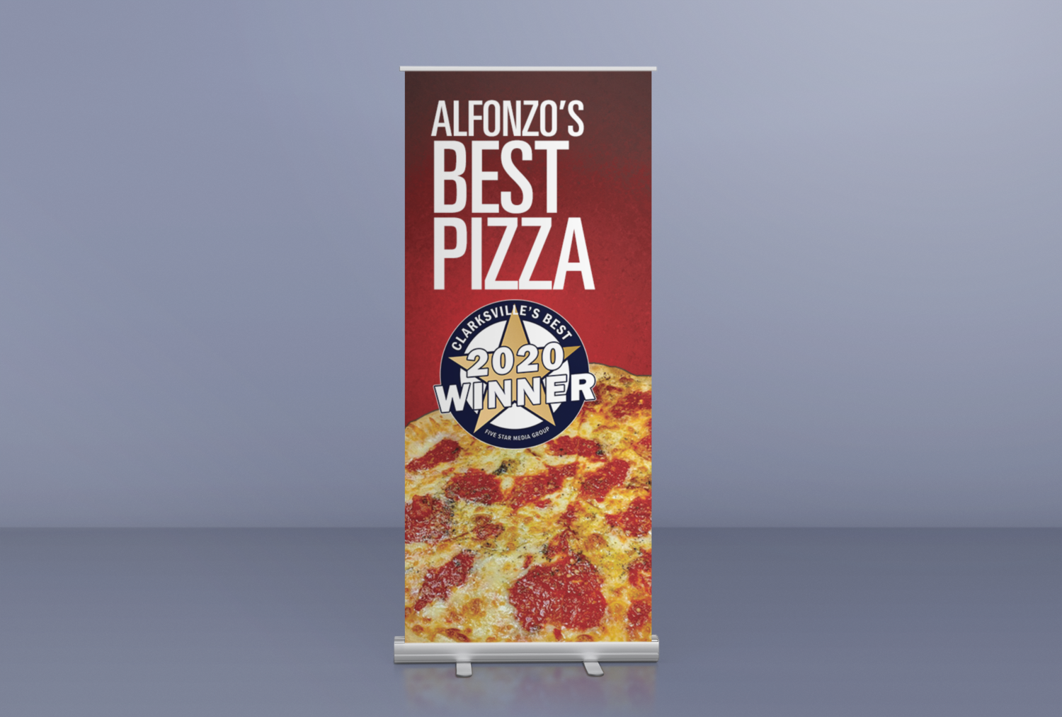 Custom Design Retractable Banner
