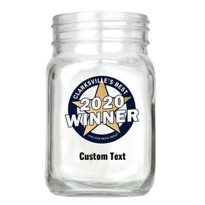 Custom Mason Jar Glass
