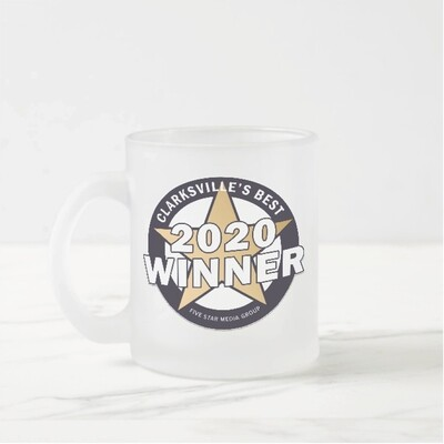 Custom Frosted Glass Mug
